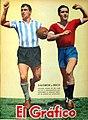Salomón (Racing) y Erico (Independiente). - El Gráfico 1163.jpg