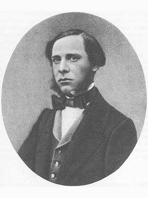 Mikhail Saltykov-Shchedrin - Saltykov-Shchedrin in 1850s