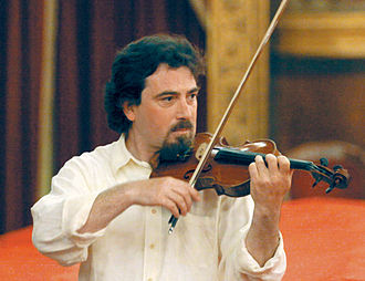 Performance - Image: Salvatore Greco violinist