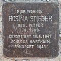 Salzburg - Lehen - Thomas-Bernhard-Straße - Stolperstein Rosina Stieger.jpg