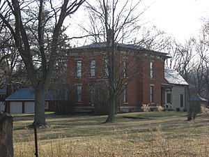 National Register of Historic Places listings in Morrow County, Ohio - Image: Samuel P. Brown House