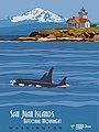 San Juan Islands National Monument poster- Sentinels of the Salish Sea (15812525229).jpg