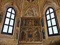 San Pietro in Gessate a Milano, cappella Obiano, affreschi di Donato Montorfano.JPG