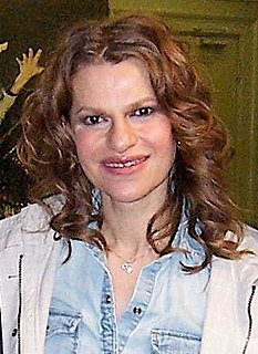 Sandra Bernhard American actress