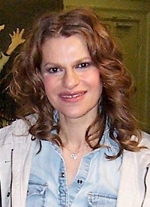 Sandra Bernhard - Bernhard at the Daryl Roth Theater in New York City, 2006.