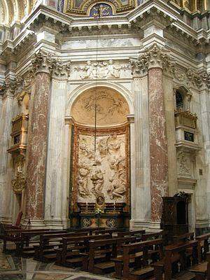 Ercole Ferrata - Image: Sant'agnese in agone, interno 06