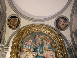 Evangelists in the Chapel Capponi