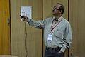 Santanu Chandra - Workshop - Contribution in Bengali Wiktionary - Bengali Wikipedia 10th Anniversary Celebration - Jadavpur University - Kolkata 2015-01-09 2908.JPG