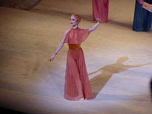 Principal dancer - Sarah Lamb, a principal dancer with the Royal Ballet in London.