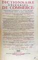 Savary des Bruslons - Dictionnaire universel de commerce, 1750 - 378.tif