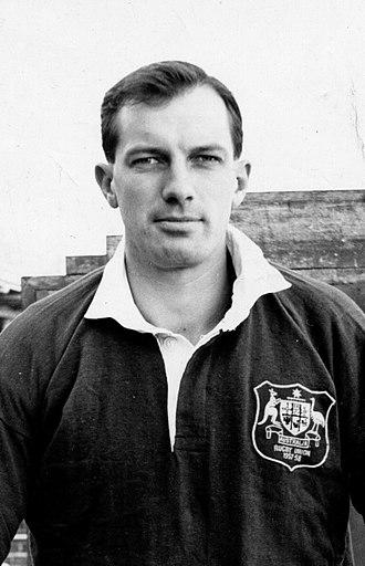 1957–58 Australia rugby union tour of Britain, Ireland and France - Saxon White