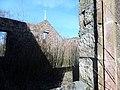 Schaw Kirk or Stair United Free Church, Trabboch - detail of interior.jpg