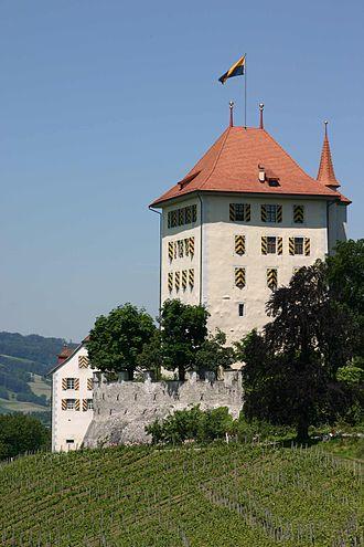 Heidegg Castle - Image: Schloss Heidegg Schlossturm