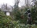 Schloss Schoenhausen, statue in the park 003.jpg