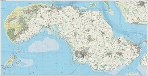 Zeeland Holland Karte.Schouwen Duiveland Wikipedia