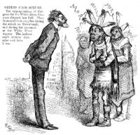 Schurz Confronts Indians
