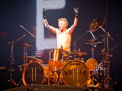 Scorpions - James Kottak, Madrid 2014
