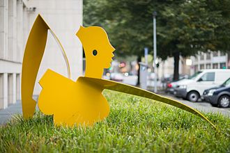 Allen Jones (artist) - Sculpture by Jones at Georgsplatz Hanover in Germany.