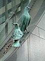 Sculpture of two birds -City Square, Leeds, England-11Sept2011.jpg