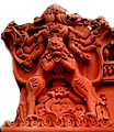 Sculpture on Bheemili Jagannath temple.jpg