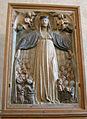 Scultore toscano, madonna della misericordia, 1400-1450, 01.JPG