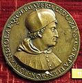 Scuola bolognese dopo il francia, medaglia di francesco degli alidosi, cardinale.JPG