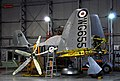 Sea Fury two seat trainer, Imperial War Museum, Duxford. (31097545325).jpg