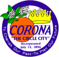 Seal of Corona, California.png