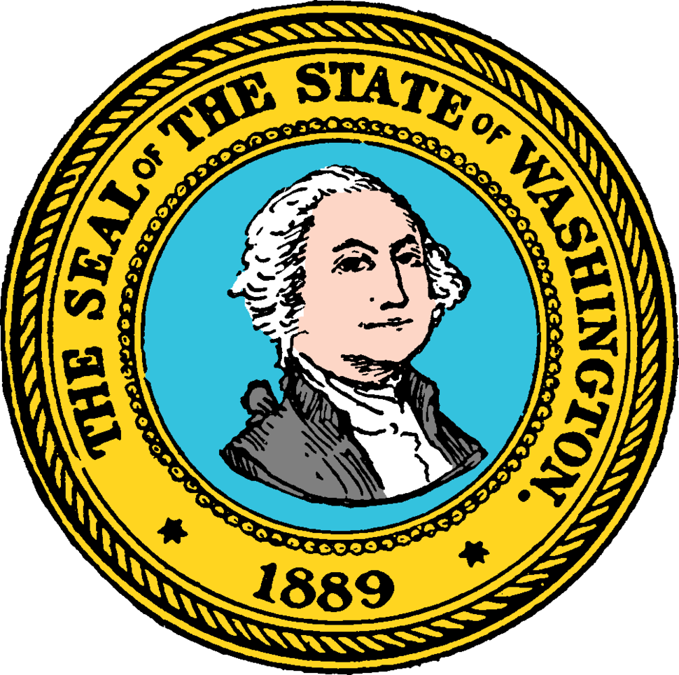 Seal of Washington (1889)