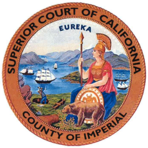 Imperial County Superior Court - Seal of the Court