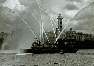 <i>Alki</i> (boat) fireboat in Seattle, now retired