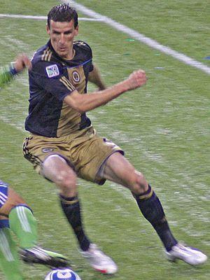 Sébastien Le Toux - Le Toux playing against Seattle