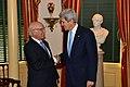 Secretary Kerry Greets Pakistani National Security and Foreign Affairs Advisor Aziz (12173835145).jpg