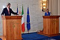 Secretary Kerry and Italian Foreign Minister Bonino Address Reporters.jpg