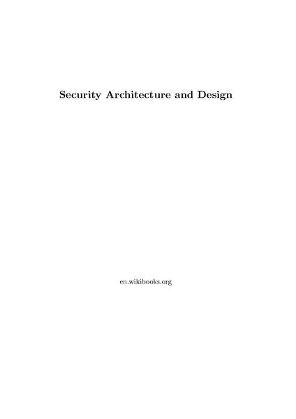 File:Security Architecture and Design.pdf