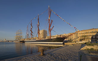 STS Sedov - Sedov in Sète, France.