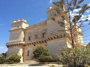 Selmun Palace - View of the Selmun Palace