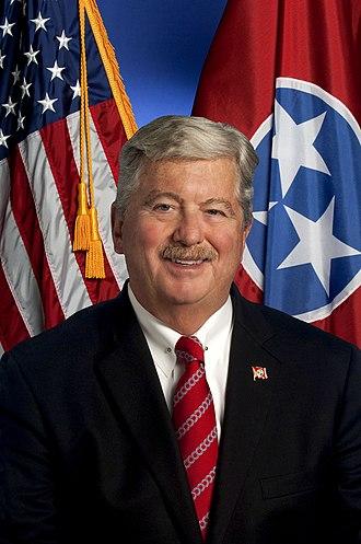 Lieutenant Governor of Tennessee - Image: Sen. Randy Mc Nally