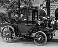 Senator George P. Wetmore of Rhode Island in a Krieger electric automobile (cropped).jpg