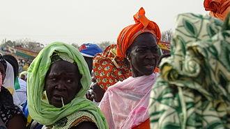 M'Bour - Senegalese women Mbour Beach