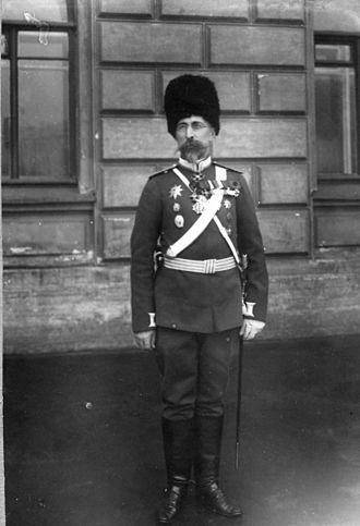 Sergey Semyonovich Khabalov - General Sergey Khabalov, c. 1914