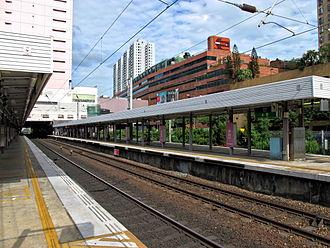 Sha Tin station - Platform 2
