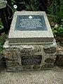 Shanklin Chine, Royal Marines Memorial - geograph.org.uk - 22620.jpg