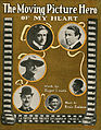 Sheet music cover - THE MOVING PICTURE HERO - OF MY HEART (1916).jpg