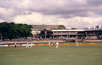 Queensland cricket team -  Queensland versus South Australia in a Sheffield Shield match at the 'Gabba, during the mid-1980s