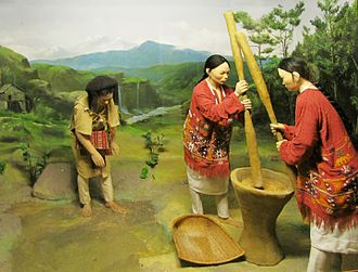 Sherdukpen people - Diorama of the Sherdukpen people at the Jawaharlal Nehru Museum, Itanagar, Arunachal Pradesh