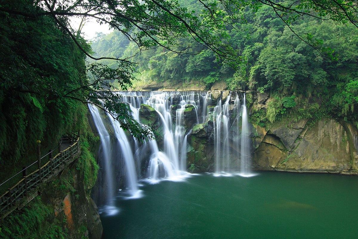 Shifen Waterfall - Wikipedia