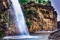 Shingro dand waterfall in Swat.jpg