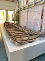 Shipwreck of Navis lusoria Roman military ship in the Museum of Ancient Seafaring, Mainz, Germany (48988292081).jpg