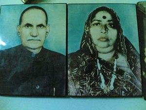 Statue of Vasupujya - Image: Shri Phulchand Sethi and Smt Lada Devi Sethi